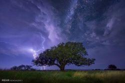 مایک مزول، عکاس ۳۱ ساله اهل تگزاس، با سفر به نقاط مختلف آمریکا و کانادا تصاویری زیبا و شگفت انگیز از ستارگان و آسمان شب ثبت کرده است