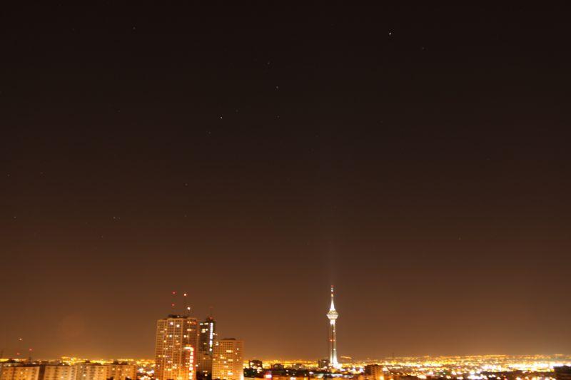 تهران شب از تو دور است