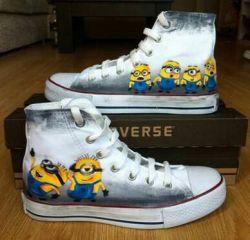 کفش مینیون خوشگل...