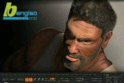 ساخت مو برای مدل های سه بعدی انسان ، چمن و پشم جانداران ( Fiber Techniques in Zbrush) www.bengiso.com
