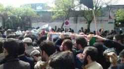 مراسم تشییع پیکر مطهر شهید مدافع حرم سعید مسافر
