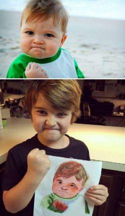 این بچه رو یادتونه.... حالا چقد بزرگ شده