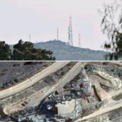 پایگاه نظامی جاسوسی دشمن صهیونیستی که مشرف بر جنوب لبنان است. این پایگاه در مقابل شهرک کریات شمونا قرار گرفته و دستگاه های جاسوسی راداری و بصری مختلفی در آن علیه لبنان مشغول به کار است. این تصویر را از فاصله هفت کیلومتری ثبت کردم. تصویر پایینی از گوگل ارث.