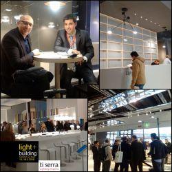 بازدید مدیران ارشد #TiSerra از نمایشگاه (روشنایی+ساختمان) فرانکفورت آلمان The presence of senior managers at the #LightandBuilding fair #MesseFrankfurt #fair #exhibition #LightandBuilding #Light #Building [ Photo,