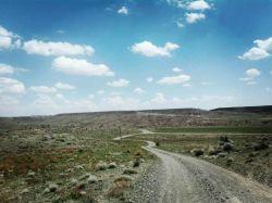 جاتون خالی موتور سواری توی این جاده خاڪــی خیلی خوب بود #روستای زرکوئیه