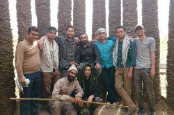 دوستان ما از دانشگاه زنجان در یادمان شهدای فکه