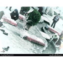 مزار شهدای گمنام کوهسنگی مشهد - برای دریافت در اندازه اصلی به وبلاگ عمار سید علی مراجعه نمایید