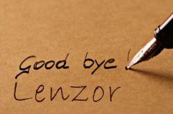 good bye Lenzor