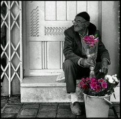 در تمام سال های رفته بر ما، روزگار ...  شادمانی می خرید از ما و ماتم می فروخت ...   من گلی پژمرده بودم در کنار غنچه ها ...  گل فروش ای کاش با آنها مرا هم می فروخت ...   #فاضل نظری