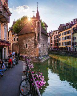 شهر آنسی در فرانسه