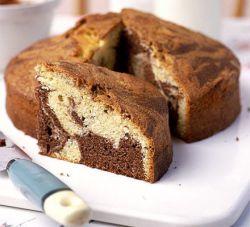 کیک مرمر شکلاتی