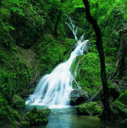 آبشار کبودوال واقع در علی آباد استان گلستان (1)