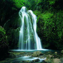 آبشار کبودوال واقع در علی آباد استان گلستان (2)