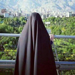 چادرم سیاه ترین رنگ جهان هم که باشد باطنش رنگیست..اگر تو فقط سیاهی اش را میبینی .ایراد از چادر من نیست!از چشمان توست!! عمیق تر بنگر..