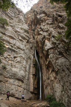 آبشار پارک ملی گلستان واقع در گالیکش استان گلستان
