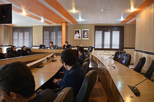 جلسه اساتید مدعو گروه تربیت بدنی واحد بوكان با هیئت رئیسه دانشگاه