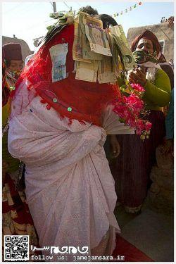 عروسی تو روستاهای زنجان اینطوریه عروس کشونشونه