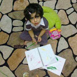 مداد رنگی هایت را بردار...دفترت را و روزهای مرا نقاشی کن با کودکی ات..