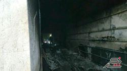 امروز بیمارستان ۱۷ شهریور شهرمون تو آتیش جزغاله شد و هیچی ازش نموند.....یک پیرزن نیز در آتش سوخت....