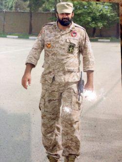 شهید مرتضی کریمی . استان قزوین .(همشهری ما هستن)