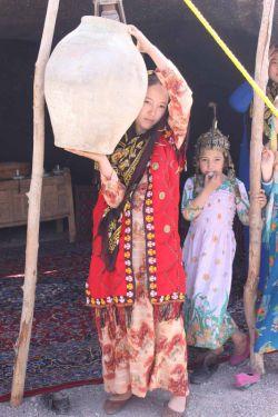 مسافرین ترکمن در ایام نوروز در شهرستان سربیشه