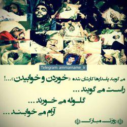 آرام میخوابند...  پاسداران آسمانی  سربازان گمنام امام زمان در این روزها  روزتان مبارک مردان مرد
