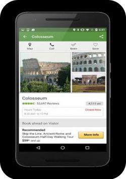 TripAdvisor این برنامه شامل نظرات افراد مختلف در مورد مکان های تفریحی است تا شما بتوانید در مورد این مکان ها اطلاعات بیشتری کسب کنید . این برنامه خود نیز شامل اطلاعاتی در مورد هزینه ی سفر و اقامت در کشور های مختلف است. دانلود از نارکت: http://market.anarestan.com/push/APP/920441440