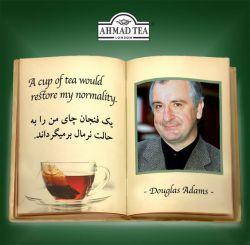 A cup of tea would restore my normality  یک فنجان چای من را بہ حالت نرمال بر میگرداند.