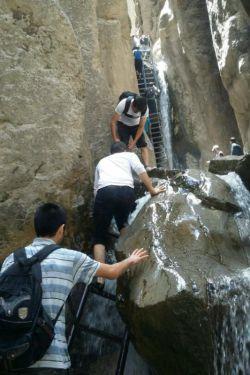 تفریح امروز/ آبشار قره سو، کلات نادری/ فوق العاده بود/ جز 100 جاییه که قبل از مرگ حتما باید دید// الکی :))