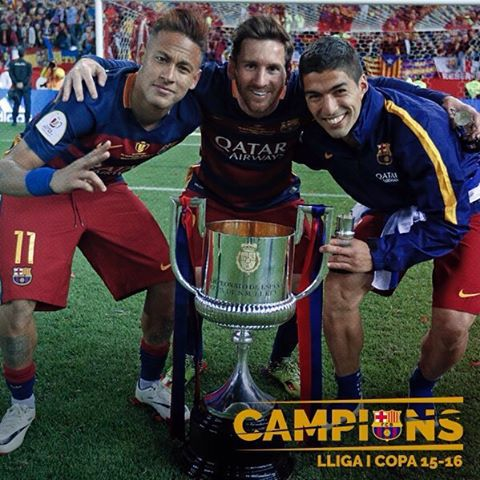fcbarcelonaA double to end a dream season