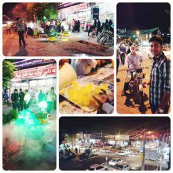 جشن نیمه شعبان در گناباد. منبع: کانال لنزور نشریه دانشجویی هشت! @hasht_mag