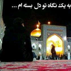 هرکسی دلش هوای حرم داره سلام بده ... السلام علیک یا علی بن موسی الرضا المرتضی