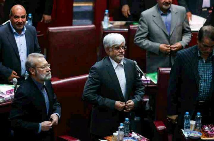 صندلی ریاست به کدام یک ، خواهد رسید ، جناب عارف یا جناب لاریجانی