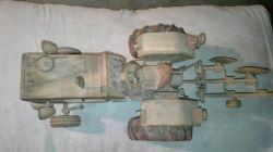 تراکتور رومانی دستساز فروشی