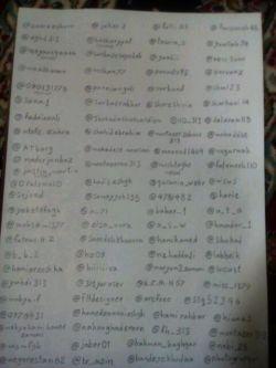 صفحه اول... میتونید اسم خودتونو پیدا کنید(ببخشید کیفیت کمه! )