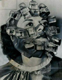 روش عجیب یخ درمانی جهت زیباسازی پوست در گذشته!