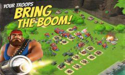بازی Boom Beach به همراه دیتای بازی.  توجه: سرورهای این بازی برای کاربران داخل ایران مسدود است!  در این بازی بسیار زیبا شما تعدادی سرباز و قایق در اختیار دارید و می بایستی که با استفاده از مهمات و نیروهای خود جزیره های دشمنان را تسخیر کرده و برده ها را آزاد نمایید و منابع دشمن را به غارت ببرید! دانلود از نارکت: http://market.anarestan.com/push/GAME/930426297