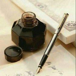 تا در دست میگیرم از تو مینویسد، نمیدانم این خودنویس است یا از تو نویس....!؟