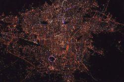تهران آخرین و زیباترین عکس از فضا