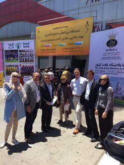نشست شرکت های آلمانی با شرکت های ایرانی در هتل اسپیناس- بازدید از نمایشگاه اگرو فود