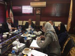 نشست شرکت های آلمانی با شرکت های ایرانی در هتل اسپیناس- بازدید از مجتمع فنی تهران