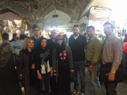 نشست شرکت های آلمانی با شرکت های ایرانی در هتل اسپیناس- بازار تهران