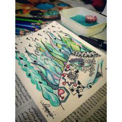 مجموعه تصویر سازی های آلبومـ پریشان.... من کمی هنرمند... روزای خوب