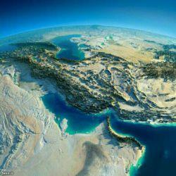 تصویر ماهواره ای ناسا از ایران،خداییش زیباست