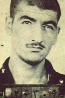 سردار بزرگ (حاج محسن رضایی)در زندان رژیم طاغوت