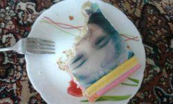 بفرمایید کیک تولد