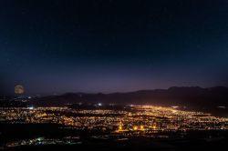 مراغه در شب عکس از یاشار آذری