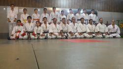 عکس اعضای باشگاه با استادان رستمی تاش،جودی و احمد نژاد