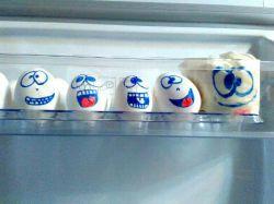 تخم مرغ یخچال عروس