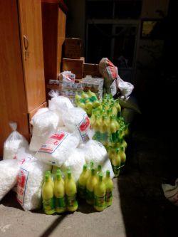 پخش بسته های غذایی در قالب طرح ضیافت مهر خیریه یاران مهر اوجان بمناسبت ماه مبارک رمضان